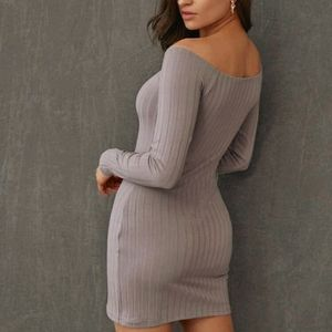 Shein off shoulder dress
